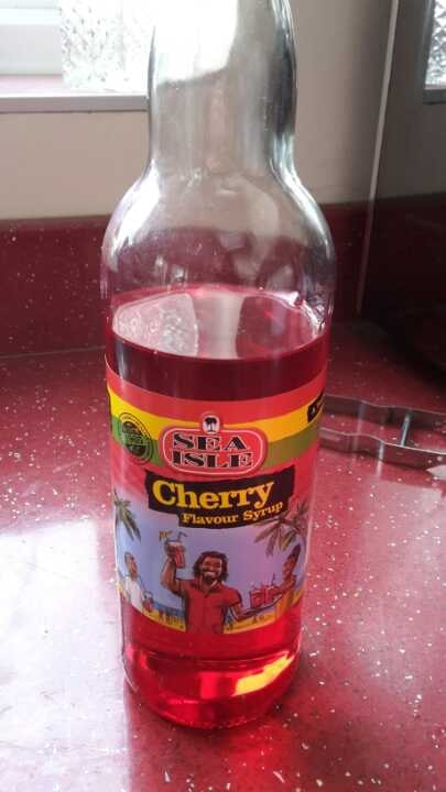 Cherry flavour syrup