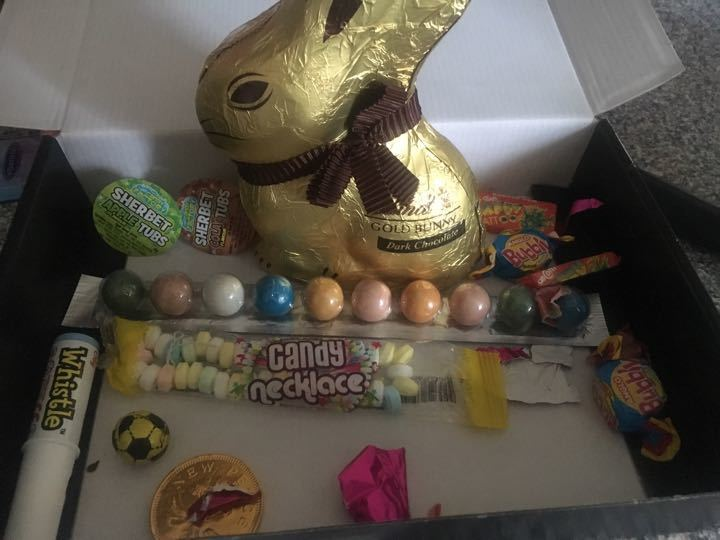 Leftover Sweets and Choc Bunny