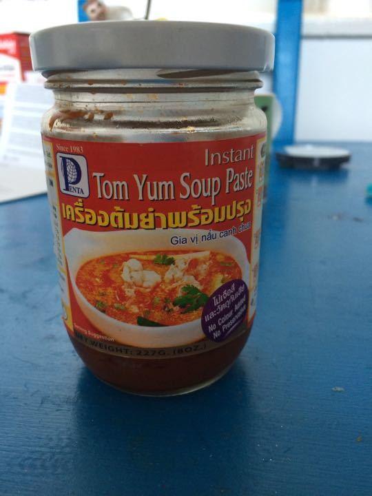 Tom yum soup paste