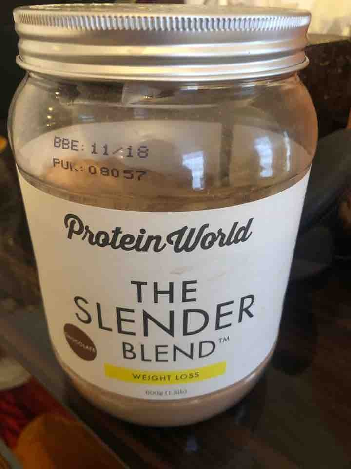 Weight loss protein powder