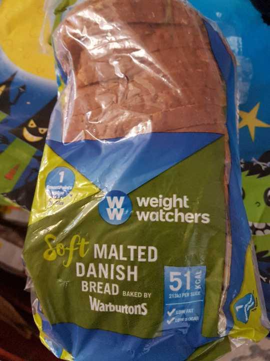 Weight watchers malted