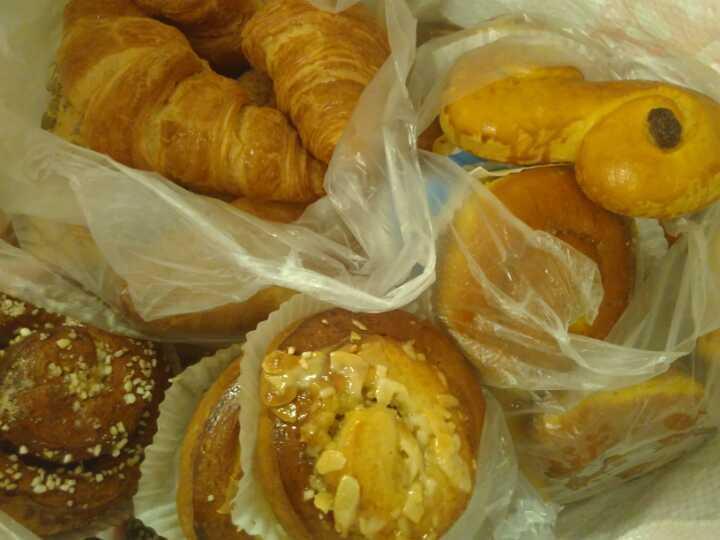INFINITE quantity of pastries