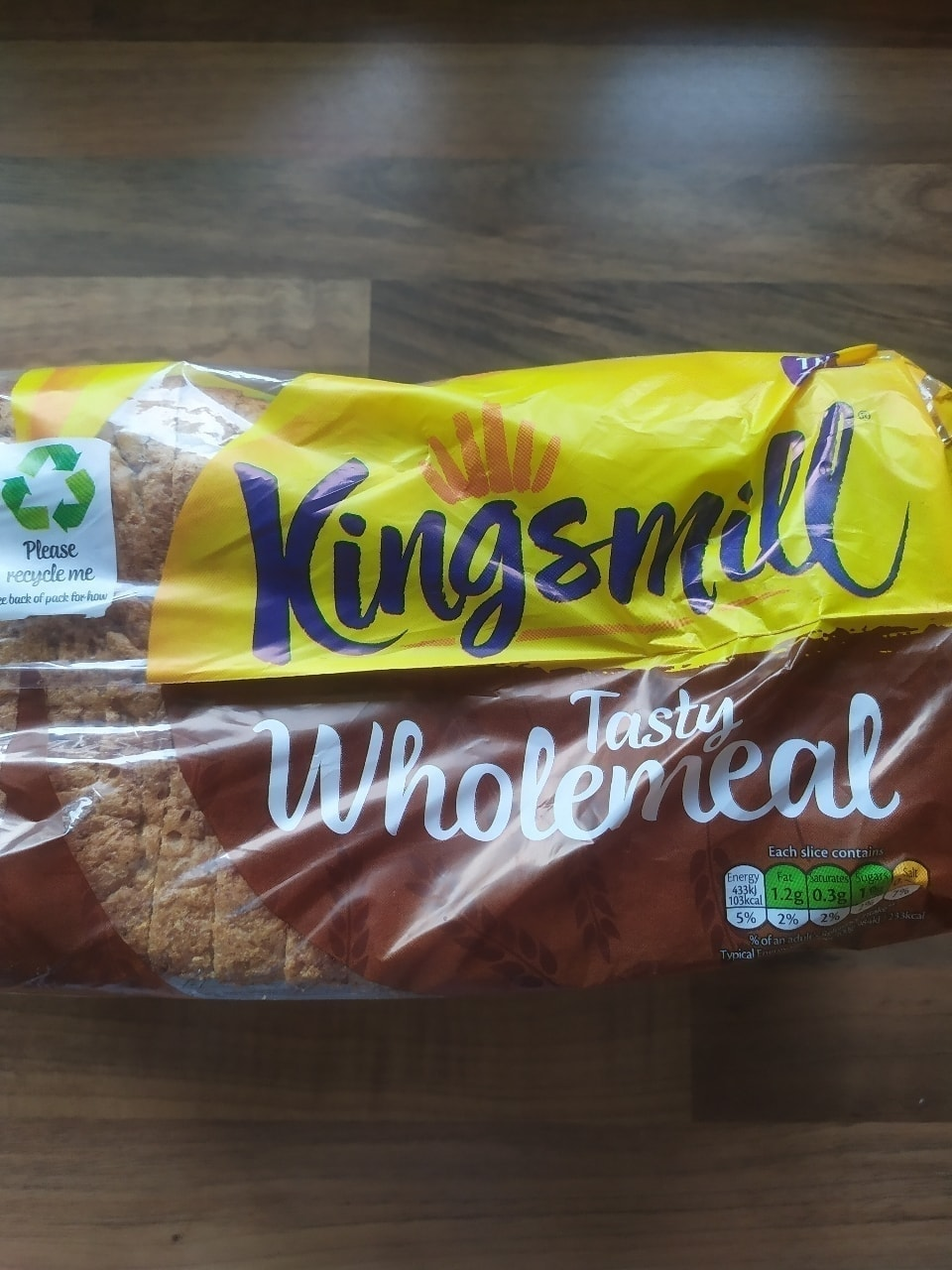 Thick Sliced Wholemeal kingsmill