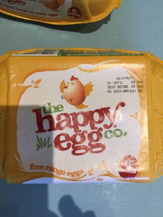 Free range eggs Medium