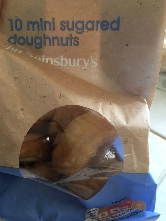 Mini sugared doughnut