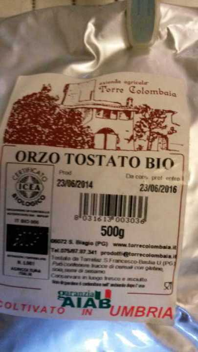 Orzo coffee substitute