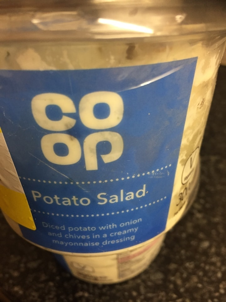 Potato salad needs to be collected tonight