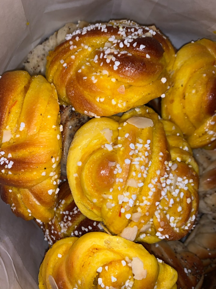 Saffron buns from Pesso lilla essingen