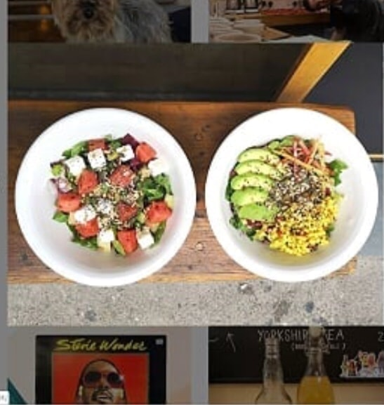 Bold Street Coffee Salads