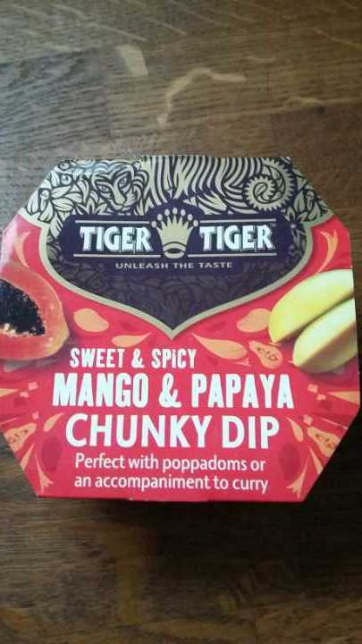 Mangi and Papaya Dip