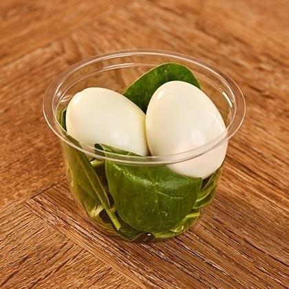 PRET pot egg & spinach