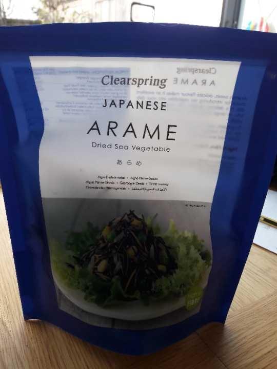 Dried Arame - dried sea vegetable