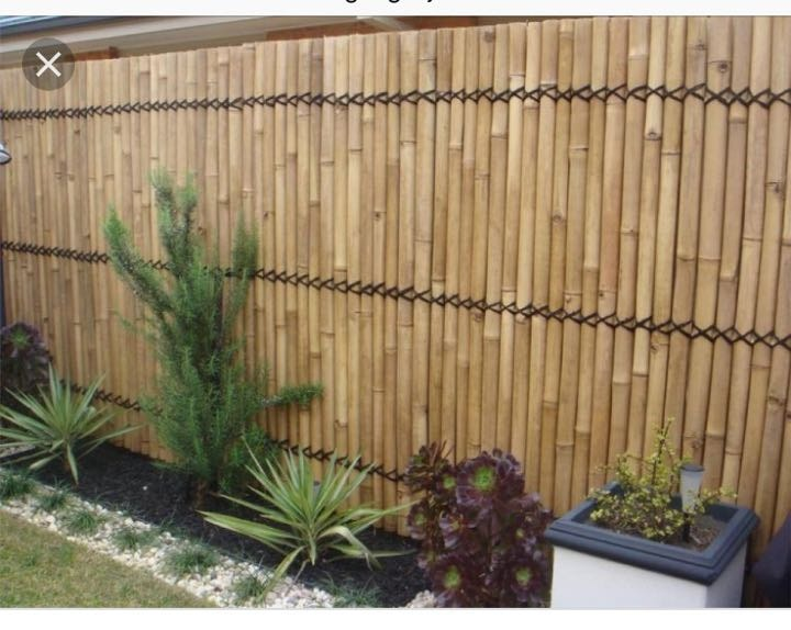 Fencing/bamboo for small balcony
