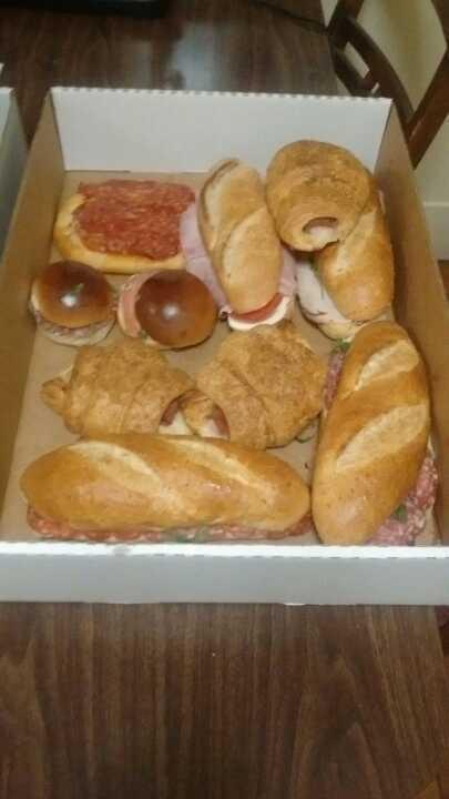 Bakery sandwiches