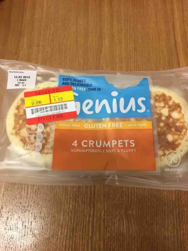 GF crumpets