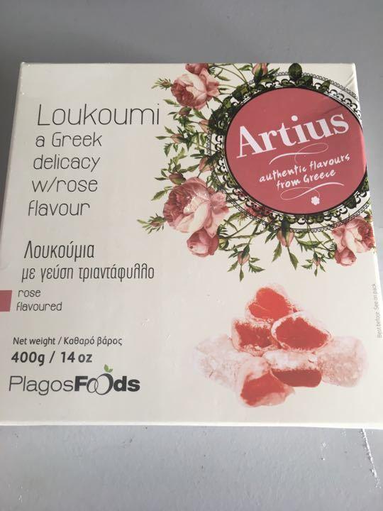 Greek Loukoumi aka: Turkish delight