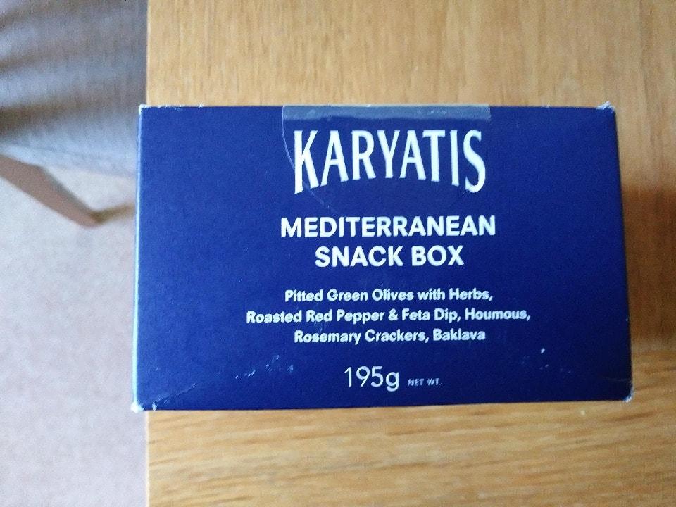 Karyatis Mediterranean Snack Box