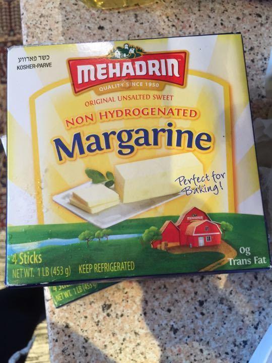 3 packs of Non hydrogenated Margarine