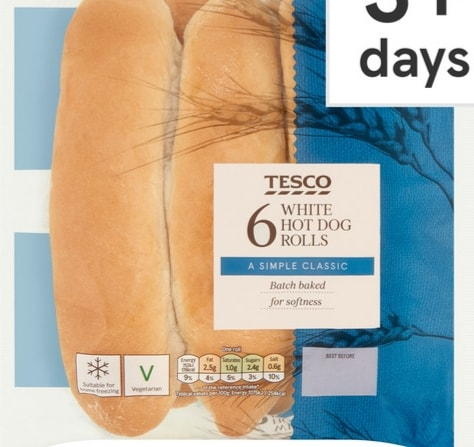 White Baton Baguettes
