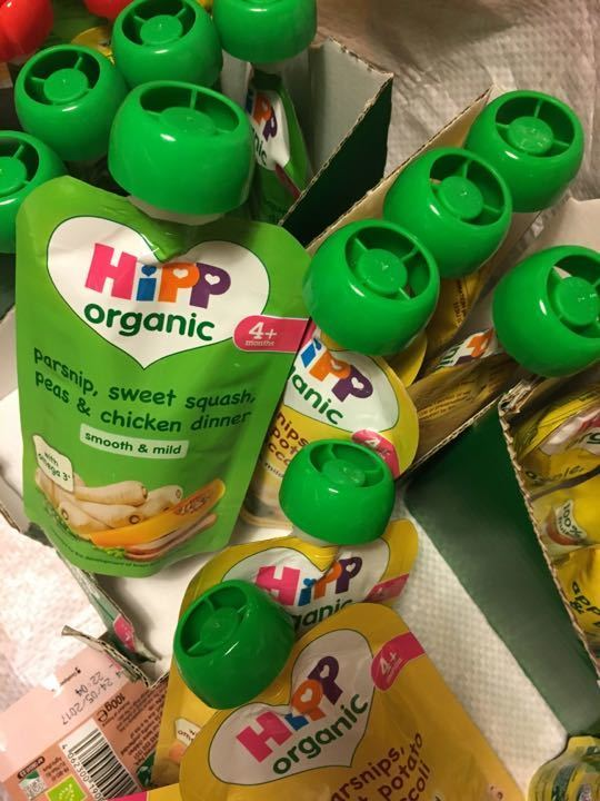 24 hip organic pouches variety of flavours