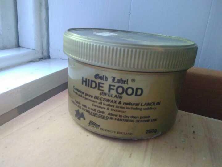 Leather conditioning cream