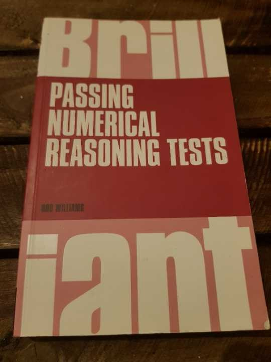 Passing numerical reasoning test