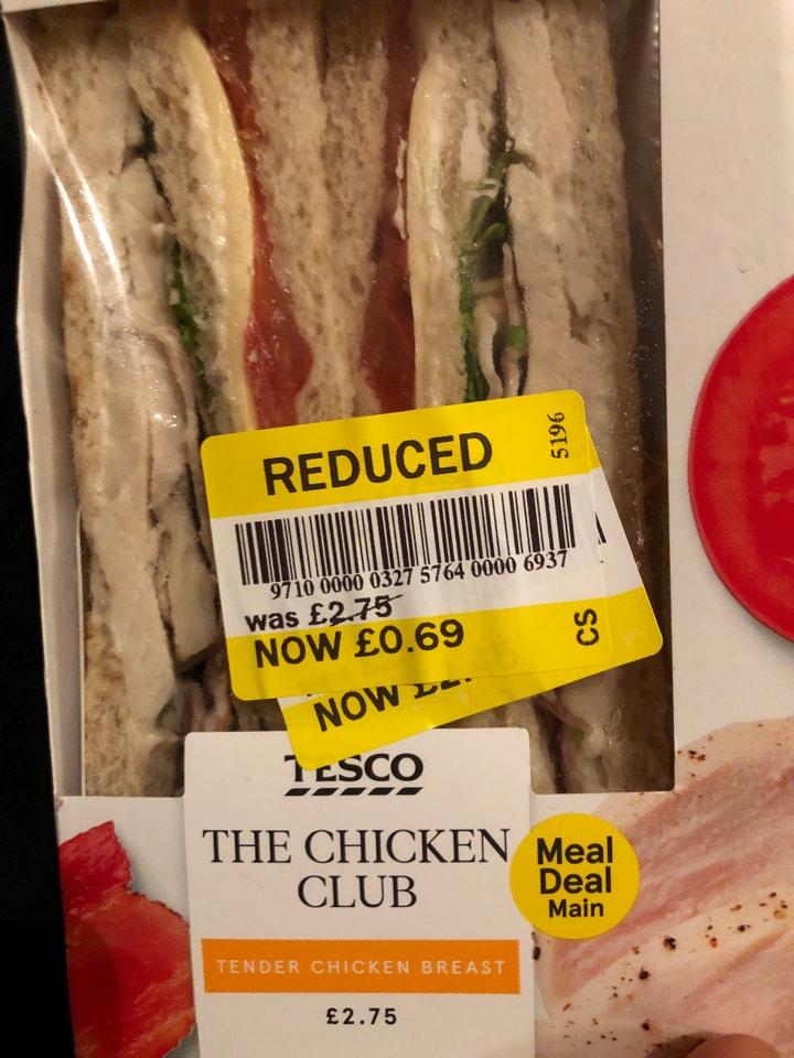 Tesco- the chicken club sandwich