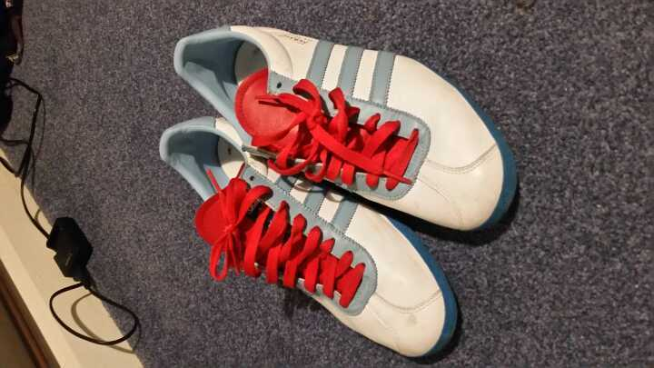 Adidas Gazelle for men, slightly used