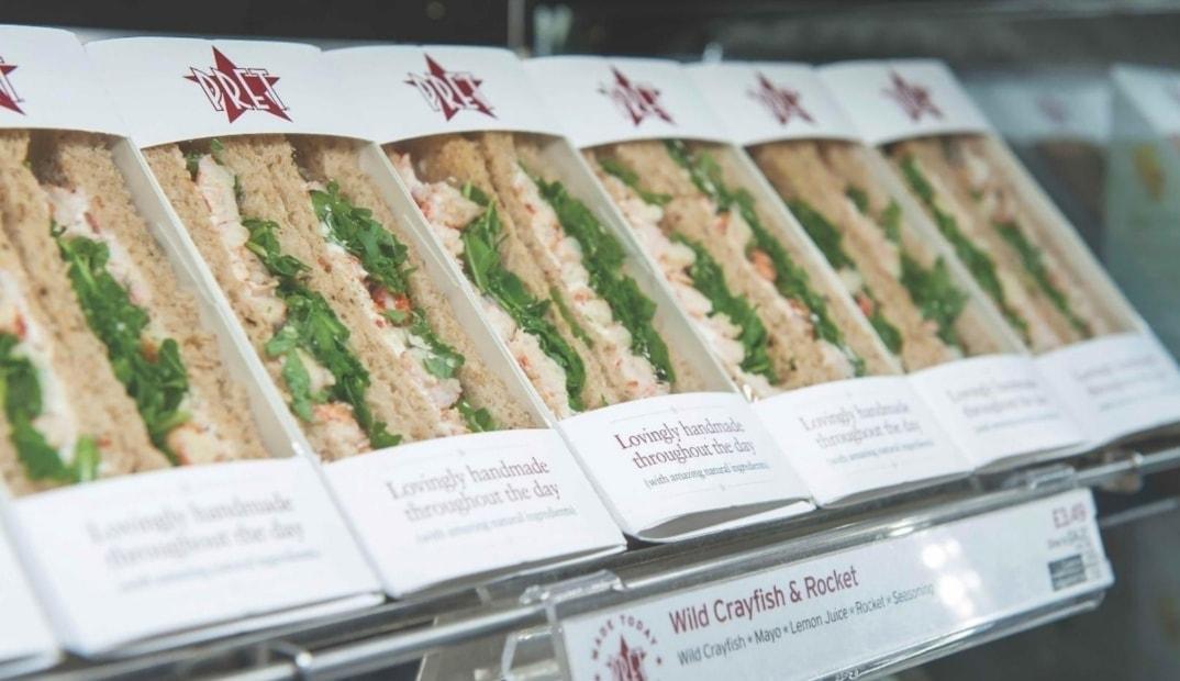 Pret Children's Sandwiches