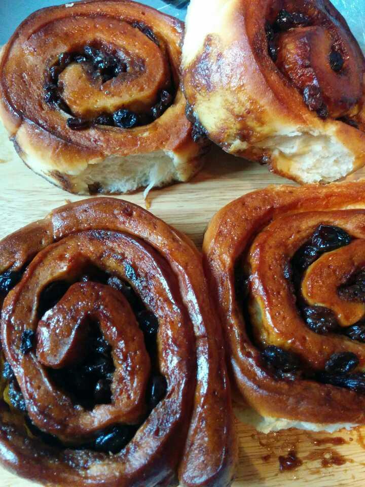 Cinnamon swirls by the Dusty Knuckle Bakery