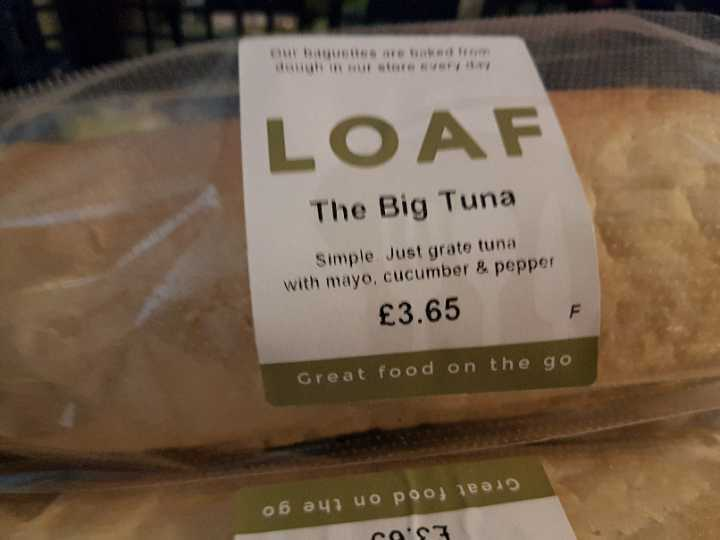 Tuna baguette