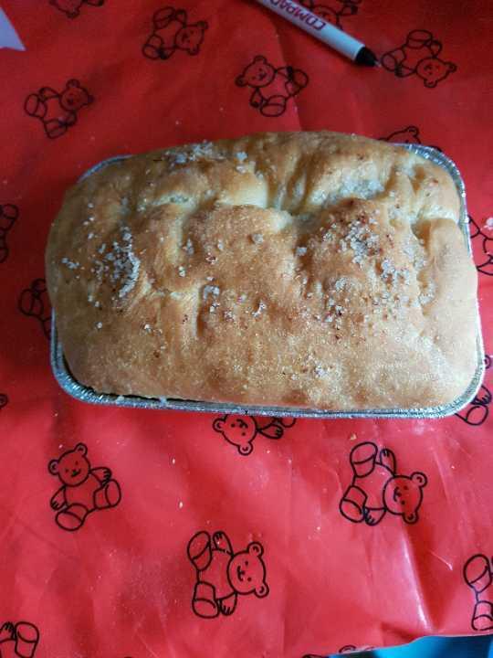 Salt tray bake loaf