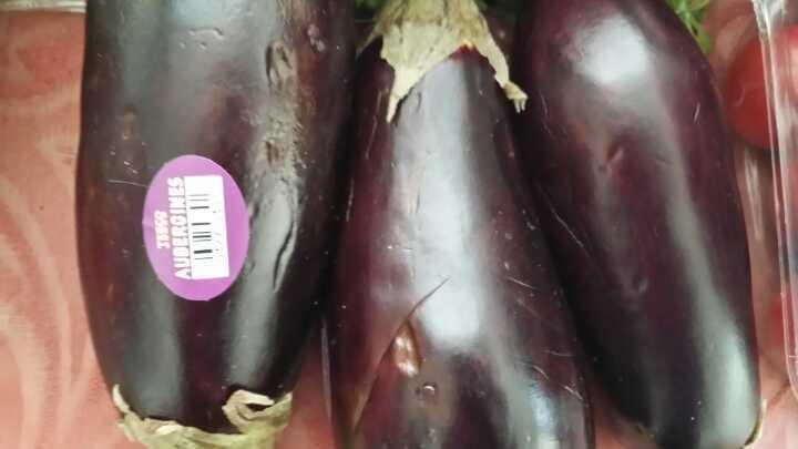 Aubergines x 1