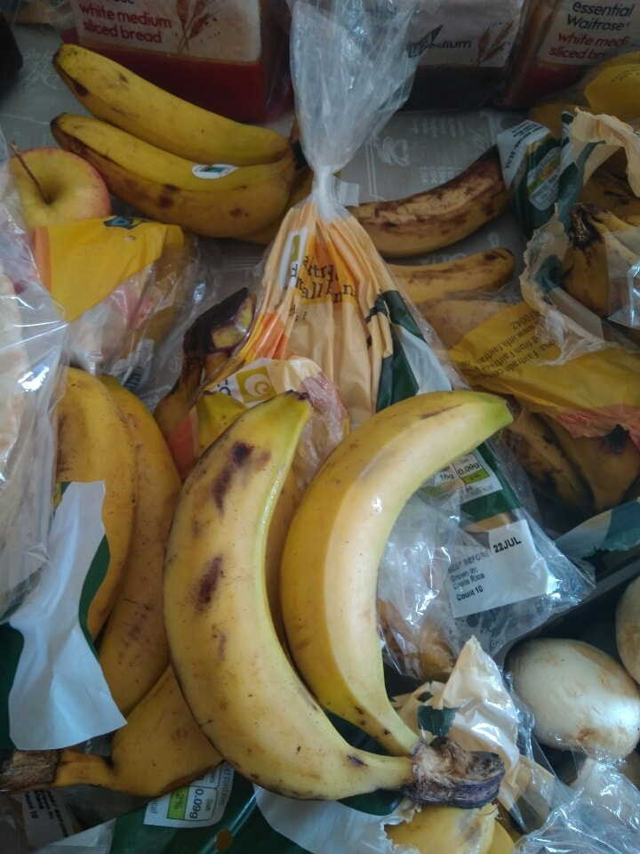 Bananas from challenge
