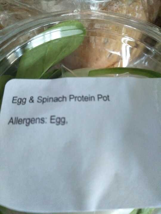 PRET 2x: Egg & Spinach Pot
