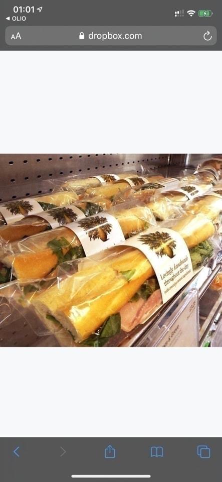 Pret baguette posh cheddar and pickle