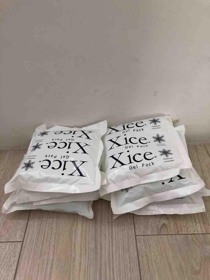 8 Xice gel packs
