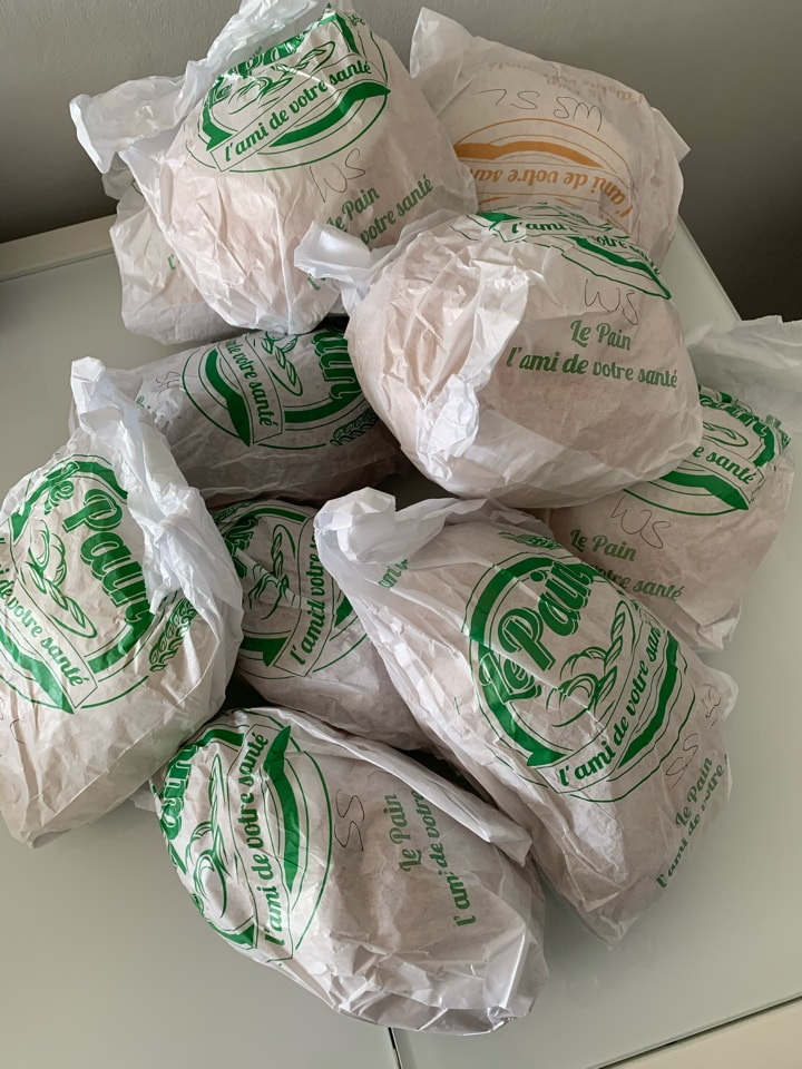 Real Patisserie bread