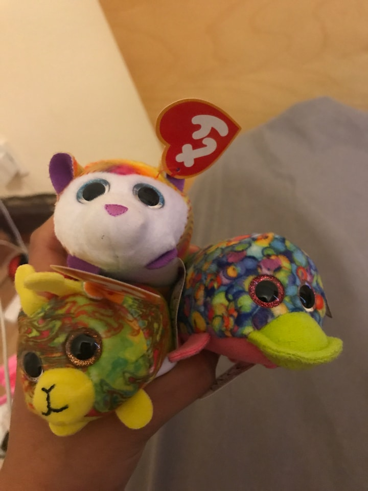 ty happy meal toys