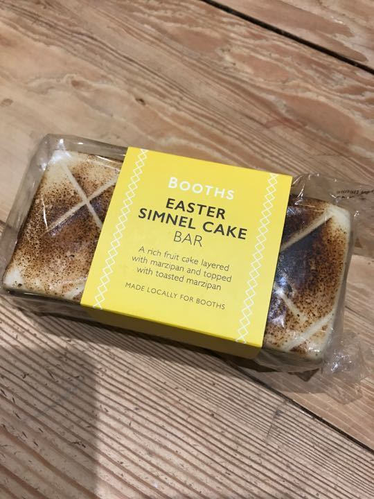 Booths Easter Simnel Cake