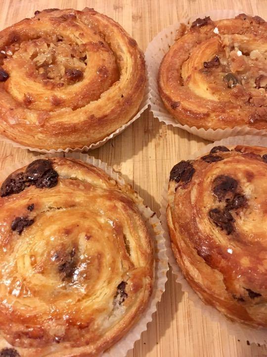 Danish buns
