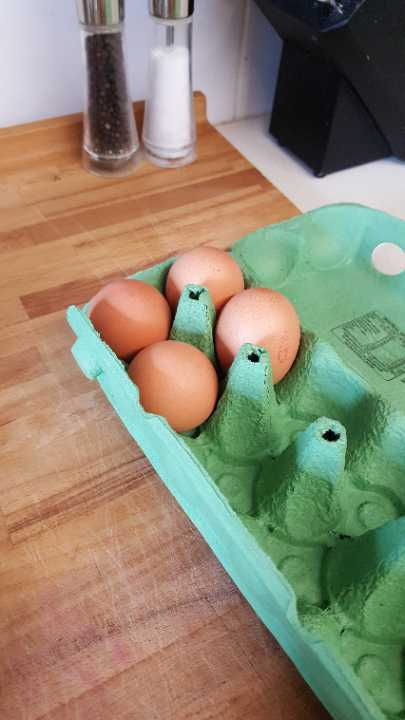 4 large eggs