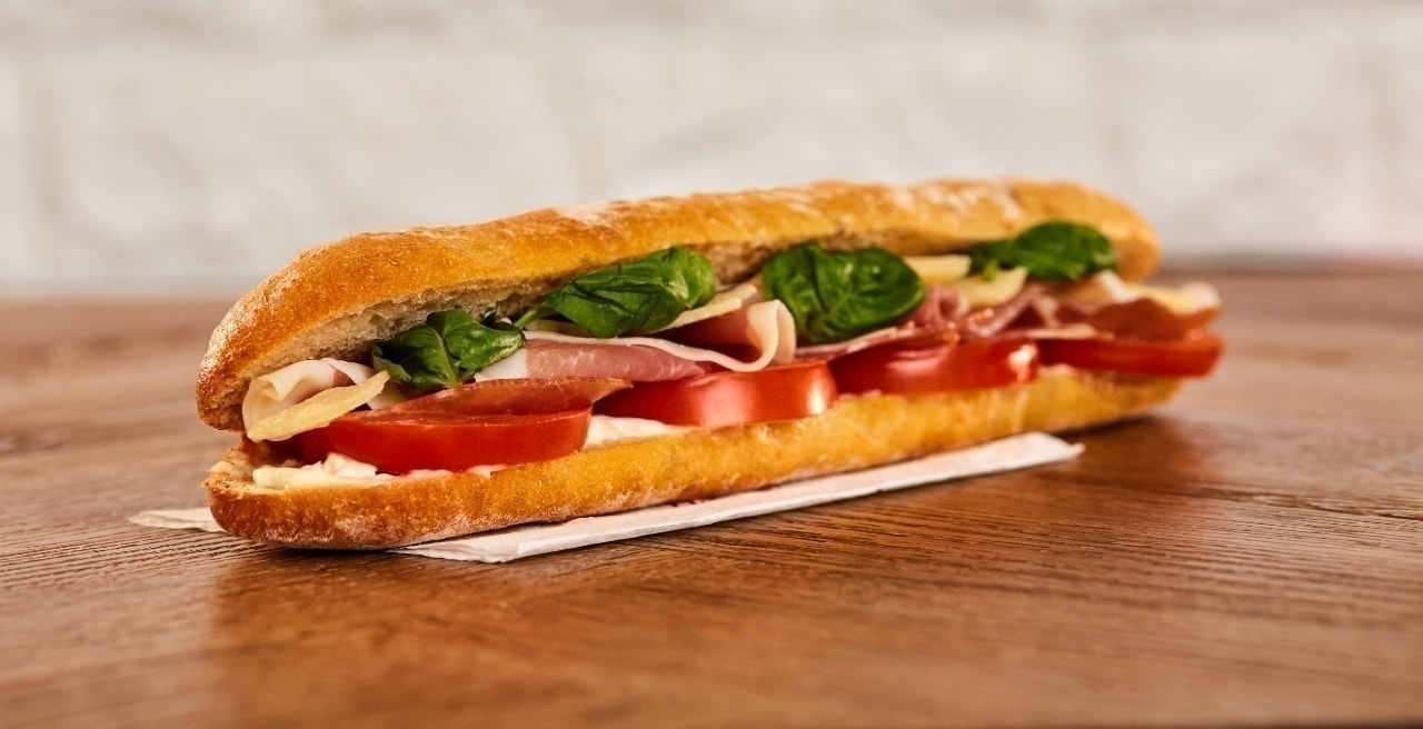 Meat/fish Pret baguettes up for grabs!