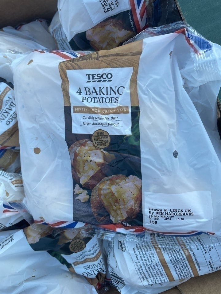 4 baking potatoes
