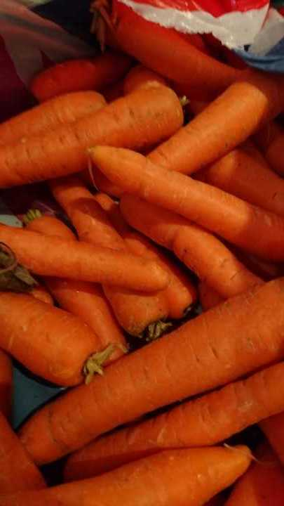 Carrots before 2.30 pm