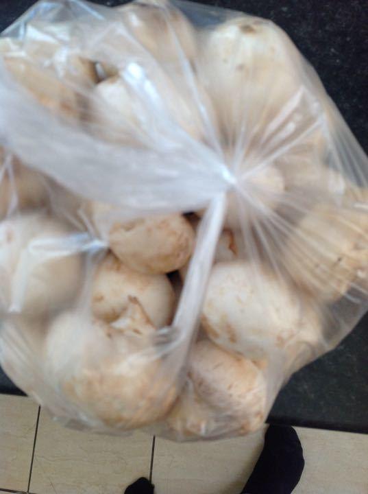 X2 bags of mushrooms