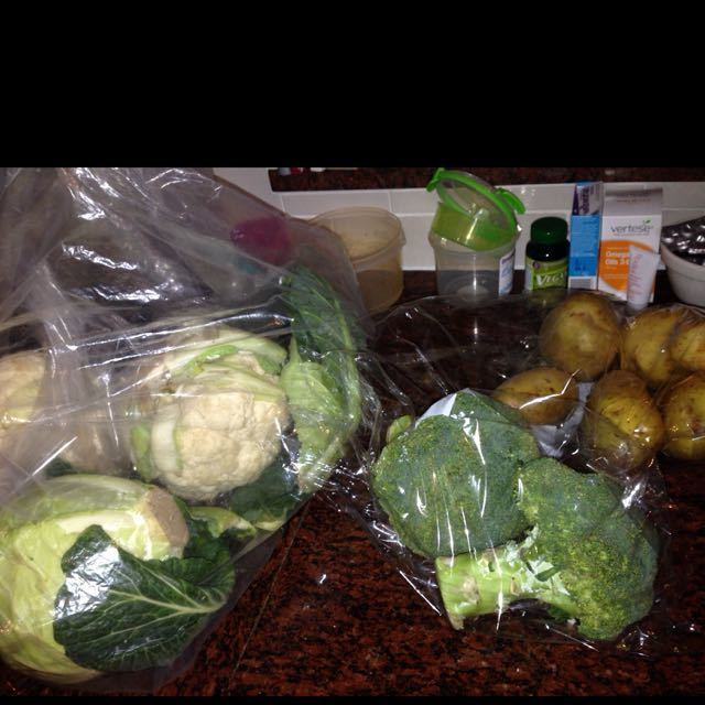 Veg in perfect condition!