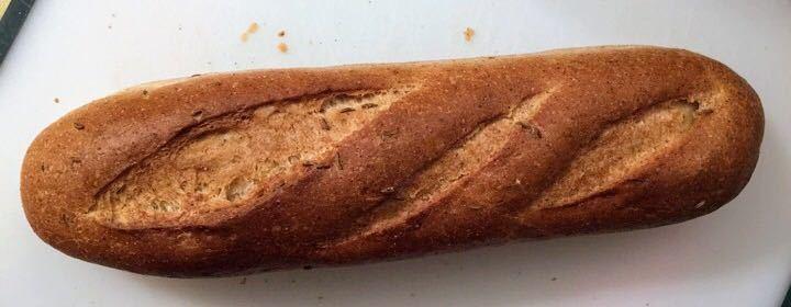 Granary baguettes - 6 left