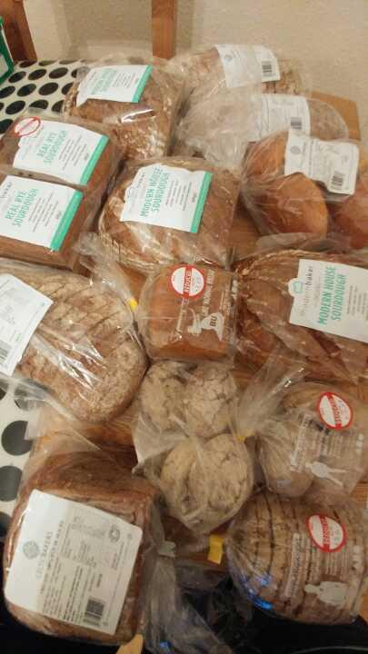 Bread courtesy of Planet Organic