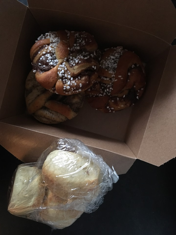 Pastries from cafe Nero (March 30th)